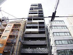 プレサンス上町台クレスト[6階]の外観