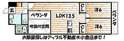 福岡県北九州市門司区老松町の賃貸マンションの間取り