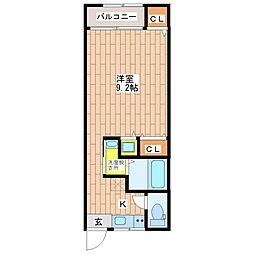 オーナーズマンション南巽[205号室]の間取り