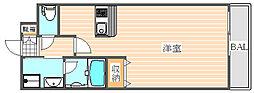 エンクレスト博多駅東2[6階]の間取り