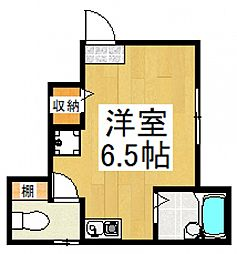 ROSSO青葉台[1階]の間取り