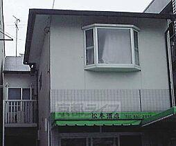 京都府京都市東山区渋谷通東大路東入常盤町の賃貸アパートの外観