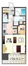 セイル江坂公園[7階]の間取り