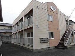 ハイツTBS B棟[2階]の外観