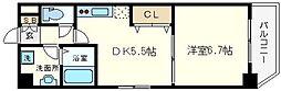 KWレジデンス九条I[8階]の間取り