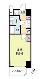 S-RESIDENCE神戸磯上通 6階1Kの間取り