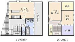 [一戸建] 広島県広島市西区新庄町 の賃貸【/】の間取り