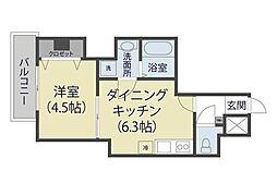 仮)芝新町ヒルズマンション225[402号室]の間取り
