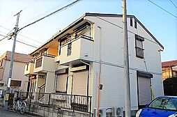 東京都昭島市昭和町3丁目の賃貸アパートの外観