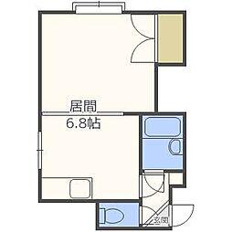 ビルバル[2階]の間取り