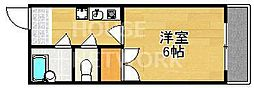 パルコーポ太子道[205号室号室]の間取り