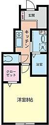 イーストコート杉田[1階]の間取り