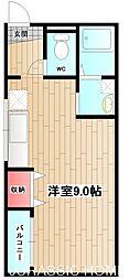 大阪府堺市堺区熊野町東3丁の賃貸マンションの間取り
