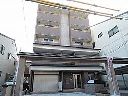京都府京都市上京区中宮町の賃貸マンションの外観