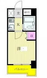 神奈川県横浜市中区石川町5の賃貸マンションの間取り