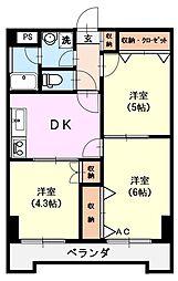 第二レイクマンション[306号号室]の間取り