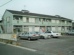 千葉県鎌ケ谷市東中沢の賃貸アパートの外観