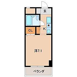シェトワ城東[5階]の間取り