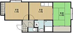 [テラスハウス] 静岡県浜松市中区佐鳴台2丁目 の賃貸【/】の間取り