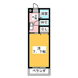 エトワールシミズI[1階]の間取り