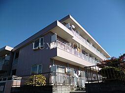 東京都羽村市羽加美1丁目の賃貸マンションの外観
