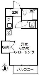 ストーク北田[2階]の間取り