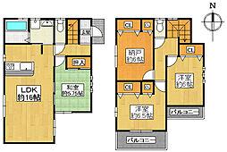 一戸建て(近鉄八尾駅から徒歩15分、96.39m²、3,380万円)