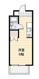 神奈川県厚木市戸室4丁目の賃貸マンションの間取り