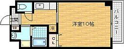 グランディールタカラ[5階]の間取り