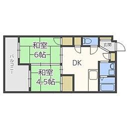 博多大洋ビル[3階]の間取り