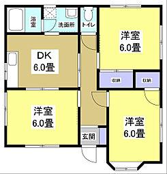 [一戸建] 静岡県袋井市神長 の賃貸【/】の間取り