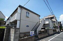 コーポふじA[1階]の外観