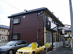 兵庫県高砂市神爪4丁目の賃貸アパートの外観