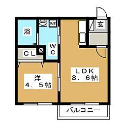 北海道札幌市豊平区平岸三条7丁目の賃貸マンションの間取り