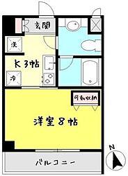 秋桜[6階]の間取り