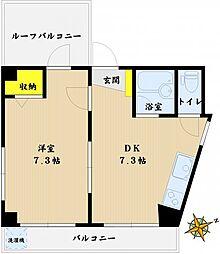 児玉マンションII[4階]の間取り