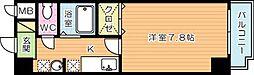フレンドパーク富士見[4階]の間取り