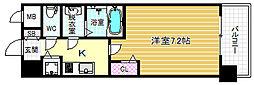 メインステージ大阪福島[9階]の間取り