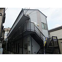 東京都板橋区志村1の賃貸アパートの外観