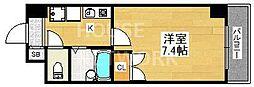 Sakura Residence[410号室号室]の間取り