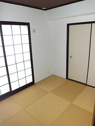 琉球畳仕様の落...