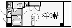 パラシオ北夙川[3階]の間取り