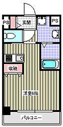 アクアプレイス梅田II[10階]の間取り