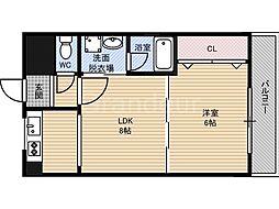 アーバンフレーム21[3階]の間取り