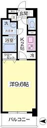 谷町九丁目駅 徒歩8分3階Fの間取り画像