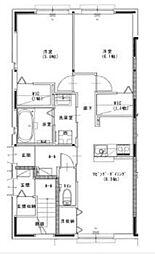 セーヌアンジェ赤穂II[1階]の間取り