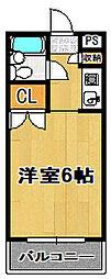 Collection永楽橋[2階]の間取り