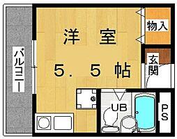 埼玉県春日部市大場の賃貸マンションの間取り