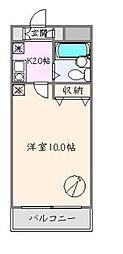 フォーサイト大塚[103号室]の間取り