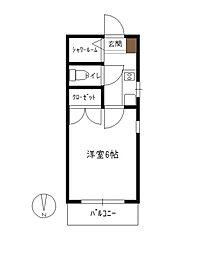 メゾン楽々園[2階]の間取り